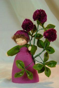Flower Fairy Hagebutte Deko Figur Elfe Fee Blumenkind NEU