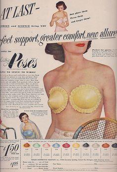 "YES. ""At Last... Fashion and Science bring you... Enchanting Poses!"" 1949"