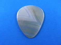 Brazilian agate Stone guitar pick  P607 by HawkeyePicks on Etsy
