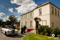tankardstown house on the afternoon of a summer wedding