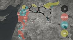 ISIS -- a jihadist group so radical that Al-Qaeda recently distanced itself from them -- is gaining power in Syria. Here's our map showing the latest balance of power in the country. (FEB 2014)