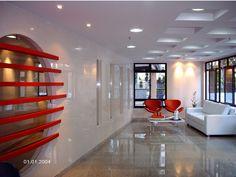 Projeto Salão de Festas - área de lazer edifício residencial