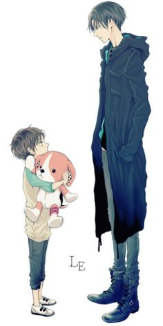 The only time Levi is taller than someone is when they're like five - Levi and Eren