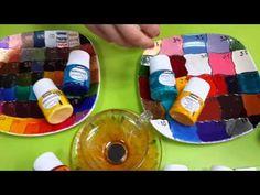Видео-обзор по краскам для стекла и керамики