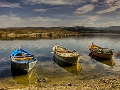 Boats of Demirkopru, Turkey by Nejdet Duzen on flickr