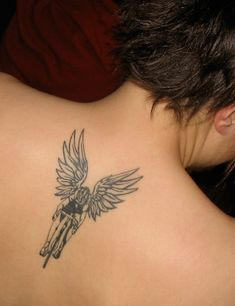 cyclist angel wings