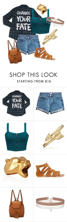 """""""Merida"""" by consuela-is-fabulous1 ❤ liked on Polyvore featuring Element, Bling Jewelry, StrangeFruit, Miss Selfridge and See by Chloé"""