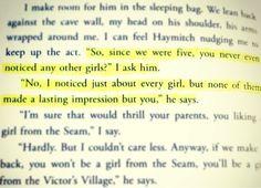 <3 Peeta Mellark being a stud. Hunger Games Quotes