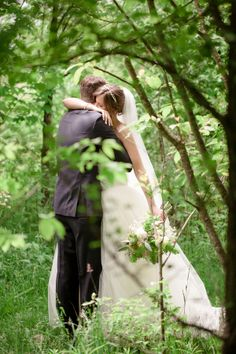 bride and groom - michigan wedding