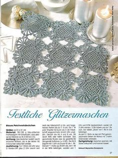 crochet doily - christina - Álbumes web de Picasa