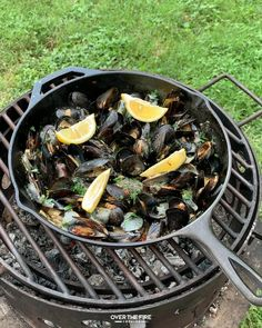 Shellfish Recipes, Seafood Recipes, Cooking Recipes, Healthy Recipes, Do It Yourself Food, Summer Grilling Recipes, Lobster Recipes, Fire Cooking, Campfire Food