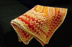 Baby blanket, yarn Novita Onni