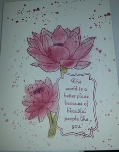 Stampin up:people like you