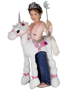 The Ride-A-Unicorn Girls Costume is the best 2019 Halloween costume for you to get! Everyone will love this Girls costume that you picked up from Wholesale Halloween Costumes! Girl Unicorn Costume, Unicorn Halloween Costume, Unicorn Dress, Halloween Costumes For Girls, Halloween Fancy Dress, Halloween Ideas, Unicorn Mask, Halloween City, Halloween Stuff