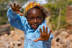 Let me show you my #dance #moves #happy #boy #Botswana #Wildlife  image copyright:Fotolia