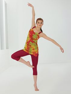 Life In Color | Revolution Dancewear Contemporary/Lyrical Dance Recital Costume