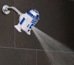 A Darth Vader Showerhead, Because The Force Is ALWAYS With You