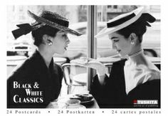 TUBU059 - Postkaartenboekje - Black & White