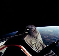 The Gemini-12 spacecraft during standup extravehicular activity with the hatch open. Original from NASA. Digitally enhanced by rawpixel. | free image by rawpixel.com Astronauts In Space, Nasa Astronauts, Free Photos, Free Images, Cool Photos, Mission Images, Project Gemini, Apollo 16, Nasa Space Program