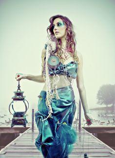 """sea goddess"" by Yunkin Keophomma, via 500px"