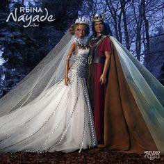 Reina Náyade y Rey Queirón | por davidbocci.es/refugiorosa