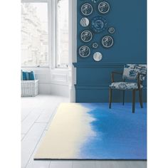 Bluebellgray Prussian 17708 Blue Ombre Rug