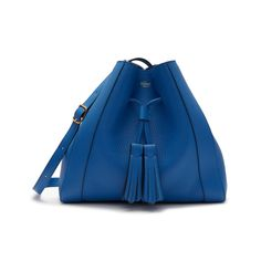 Small Millie Tote | Porcelain Blue Heavy Grain | Women | Mulberry Small Tote Bags, Sale Uk, Bond Street, Leather Tassel, Saved Items, Blue Bags, Leather Working, Bucket Bag, Shoulder Strap