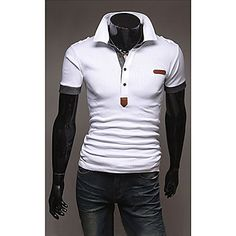 Men's Korean Version All-Match POLO T-Shirt - GBP £ 14.01