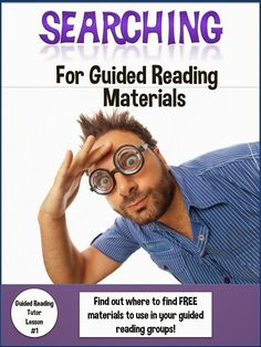 Even if your school is loaded with guided reading materials, sometimes you just want something different, something special and something that really grabs the kids' attention. Read this first in a series of six guided reading posts to find great links to LOTS of guided reading materials.
