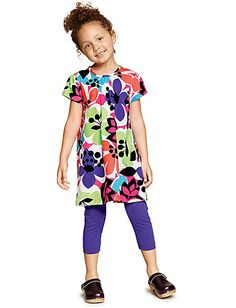 All In Bloom Tunic Dress at Hanna Andersson