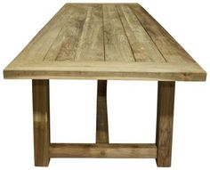 Dankee Dining Table Teak. A Block and Chisel Product.