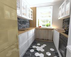 Kuchnia w mieszkaniu w Szczecinie, Pogodno, 2019 – REMA DESIGN Kitchen Cabinets, Design, Home Decor, Decoration Home, Room Decor, Cabinets, Home Interior Design, Dressers