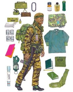 """Early LRP, individual equipment and weapons"""""""