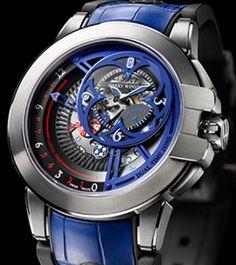 Harry Winston -Ocean Dual Time Retrograde Only watch