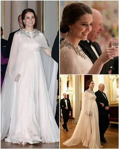 """1,141 Likes, 13 Comments - HRH The Duchess Of Cambridge (@duchesse_kate) on Instagram: """"And now, THE most incredible and amazing and stunning gown she EVER wore She was my queen that…"""""""