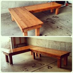 High Quality DIY Patio Benches.