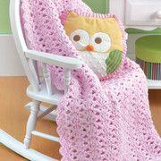 An easy toddler blanket to crochet pattern
