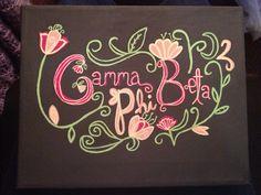 gamma phi beta canvas
