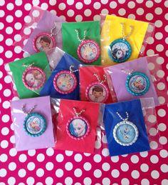 Frozen Party Favor 15 Qty Necklaces Frozen Necklace Frozen Party Favor Necklace
