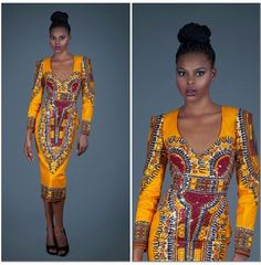 Africa ~African Prints, African women dresses, African fashion styles, african clothing