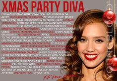 Youngblood Mineral Cosmetics Christmas Party Diva Tutorial.