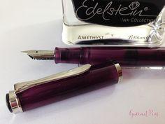 Review Pelikan M205 Classic Amethyst Fountain Pen @AppelboomLaren (14)