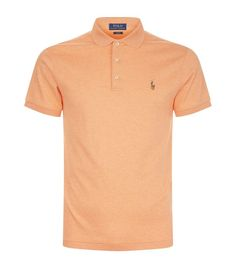 Polo Ralph Lauren Cotton Polo Shirt available to buy at Harrods.Shop clothing online and earn Rewards points. Mens Polo T Shirts, Golf Shirts, Ralph Lauren Shop, Camisa Polo, Clothes Pictures, Mens Clothing Styles, Store Online, Online Shopping, Black Men