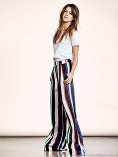 Moda y Tendencias en Buenos Aires | MODA 2016 | MODA PRIMAVERA VERANO 2017: ETIQUETA NEGRA MUJER VERANO 2016: MODA CASUAL URBANA Y ELEGANTE