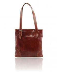 SABRINA TL140942 Leather shopping bag