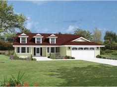Carlton Lake Country Home  from houseplansandmore.com