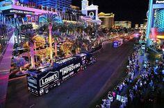 Watch the NASCAR Hauler Parade on The Las Vegas Strip March 9