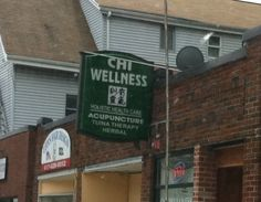 This is a wellness center near my friend Amy. They specialize in Tuna Therapy, a procedure where they masturbate you with frozen cubes of dolphin-safe tuna while playing the song of the humpback whale. So beautiful and so sad.