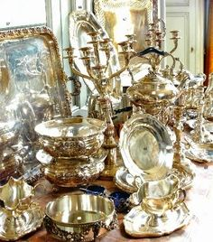 Top Tips, Tricks, And Methods To The Perfect antique silver Silver Trays, Silver Spoons, Silver Plate, Vintage Silver, Antique Silver, Tarnished Silver, Vibeke Design, Silver Lining, Luxury Life