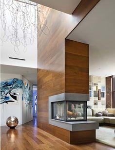#Decoracion #interior con parquet